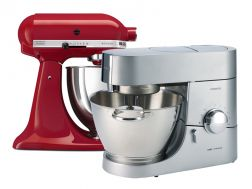 Выбор планетарного миксера: Kenwood Chef или KitchenAid Artisan