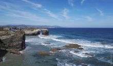 Spain, Ribadeo, Playa de Las Catedrales