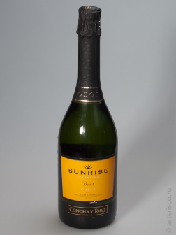 Sunrise, Sparkling, Brut, Central Valley, Chile