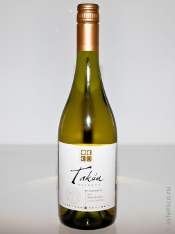 Takun Reserva, Chardonnay, Central Valley, Chile, 2010