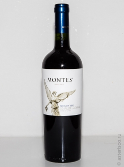 Montes Reserva, Merlot, Colchagua Valley, Central Valley, Chile, 2011