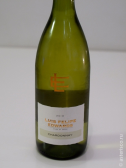 Luis Felipe Edwards, Chardonnay, Central Valley, Chile, 2010
